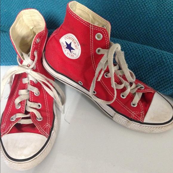 Red Converse Girls